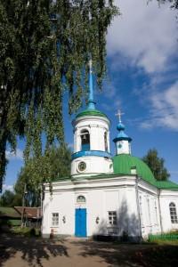 Удмуртия Сарапул Воскресенская церковь
