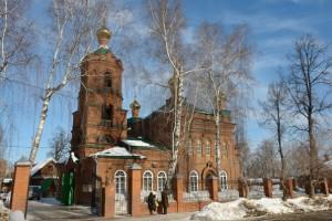 Удмуртия Сарапул Ксениевская церковь